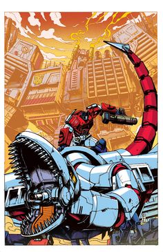 Optimus Prime 6 cover by dcjosh