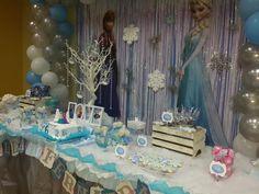 Candy Bar - Frozen Birthday Party by Mel Sanmartin Eventos - Panamá