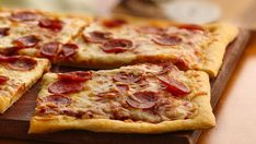 Hot, fresh-from-the-oven pizza in 25 minutes?  It doesn't get any easier--or more delicious--than this!