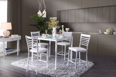 282 Best Glass Dining Table Images On Pinterest Glass