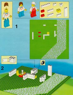 old lego instructions lego. Black Bedroom Furniture Sets. Home Design Ideas