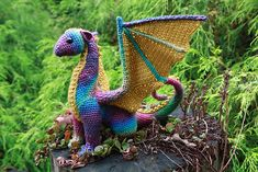 Ravelry: Dragon pattern by Crafty Intentions