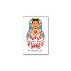 Matryoshkas (H) Coloring Book PDF