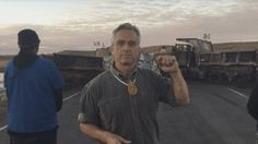Robert Kennedy Jr , at Standing Rock... Kennedy Stands with Standing Rock