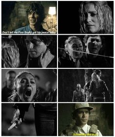 Finn got his peace talks || The 100 season 2 episode 8 and 13 - Spacewalker & Resurrection || Finn Collins, Raven Reyes, Clarke Griffin, Bellamy Blake, Jasper Jordan || Eliza Taylor, Lindsey Morgan, Thomas McDonell, Bob Morley, Devon Bostick