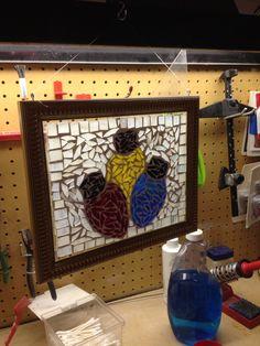 Mosaic light bulbs