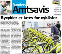 Er her fanget på billede af vore nye pendler cykler, der blev indviet i forbindelse med Den Nationale Cykelkonference i Randers. Faktisk først officielt indviet af transportminister Magnus Heunicke d. 16 - her var jeg nede at se på dem sammen med TV2 Østjylland