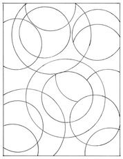 Drawing Doodle Tangle Starter Page 6 - Art projects for kids and adults, creative inspiration, contemporary artist and maker features. Doodles Zentangles, Zentangle Patterns, Zen Doodle, Doodle Art, Tangle Doodle, Colouring Pages, Coloring Books, Stained Glass Patterns, Doodle Drawings