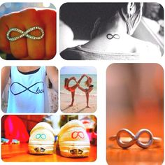 Infinity sign >