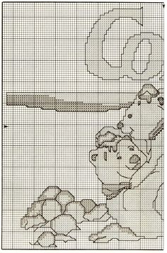 coke coca-cola polar bear cross stitch pattern