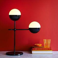 Globe Table Lamp #westelm