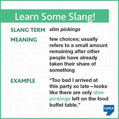 Have you heard this slang term before?