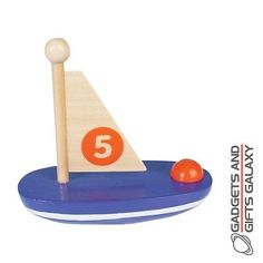 Classic traditional #wooden sailing boat 10cm long toy gift #novelty #childs retr,  View more on the LINK: http://www.zeppy.io/product/gb/2/162141611112/
