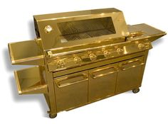 This Gold-Plated Grill Is the Most Expensive Grill Ever Made - Bon Appétit