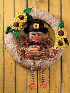 Thanksgiving Crochet, Crochet Fall, Holiday Crochet, Crochet World, Halloween Crochet, Thanksgiving Crafts, Free Crochet, Glue Crafts, Yarn Crafts