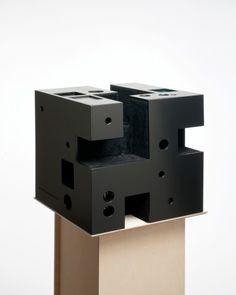 Image 14 of 60 from gallery of Venice Biennale Nordic Pavilion. Arkitektstudio Widjedal Racki, Sweden © Museum of Finnish Architecture and Ilari Järvinen Shadow Architecture, Architecture Model Making, Architecture Design, In Praise Of Shadows, Arch Model, Cube Design, Concrete Art, Venice Biennale, Cube Storage