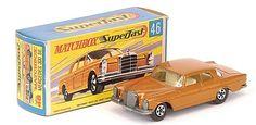 Matchbox Superfast MB46-c Mercedes 300SE