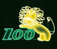 Polish Cold War Neon, Ilona Karwinska: Zoo in Wroclaw.