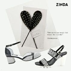 #zinda #shoes #summer #sandals #b&w #leather #madeinspain http://www.zinda.es/