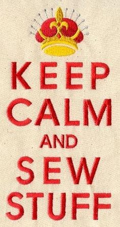 Embroidery Designs at Urban Threads - Keep Calm and Sew Stuff My Sewing Room, Sewing Art, Sewing Rooms, Sewing Crafts, Sewing Projects, Machine Embroidery Designs, Embroidery Patterns, Quilting Quotes, Sewing Quotes