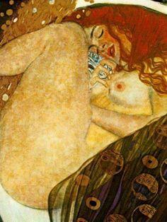 Gustav Klimt-Danae