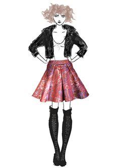 Burgundy flower print skirt Roman Holiday, Burgundy Flowers, Print Skirt, Flower Prints, Skirts, Collection, Vintage, Floral Patterns, Skirt