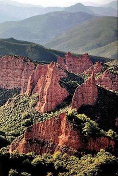 Spain. Castilla Leon. Las Medulas