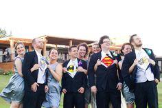 Super Hero Wedding - Ellman Photography