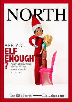 Are You Elf Enough? A roundup of favorite Elf on the Shelf antics for adults over at Babble.com!