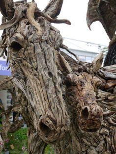 Driftwood art. Magnificent.