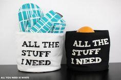 All You Need is White -blogin Satu hyödynsi Hobby Hallin tuotteita monipuolisesti mm. keittiössä.