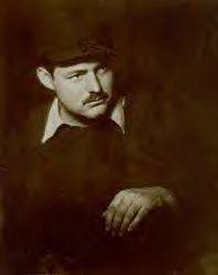 Hemingway by Helen Breaker, 1928.