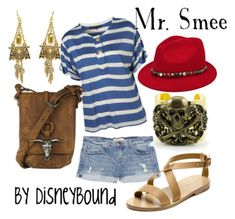 love the hat accent.  Currently a little obsessed with Disneybound....I really like colorful/creative clothing...