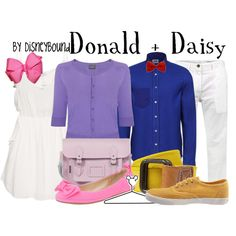 """Donald + Daisy"" by lalakay on Polyvore #disney"