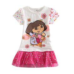 Meninas vestido dora vestidos para meninas roupas verão Nova crianças roupas para crianças vestuário vestuário ninas uma linha-kids vestidos para meninas