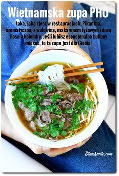 Thai Recipes, Cooking Recipes, Healthy Recipes, Healthy Food, Pho, Japchae, Ramen, Nom Nom, Food And Drink