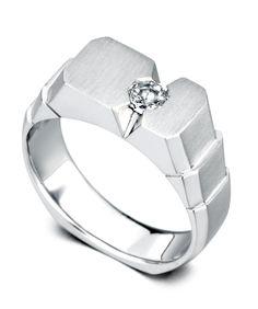 horizon men's wedding band - mark schneider design