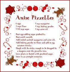 Ansie Pizzelles from Anne H. Great for parties!