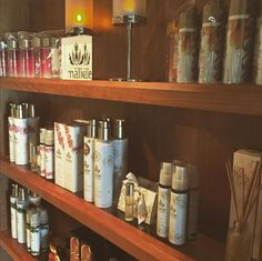 We ❤️ us some Hawaiian-made Malie products!!! Come stop by The Spa at Trump Waikiki and grab some travel size sweetness for your busy day adventures!! #maile
