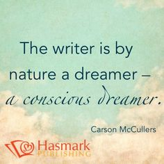 Your dreams become your writing #HasmarkPUblishing