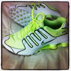 Loving my neon sneakers #sotrendy# !