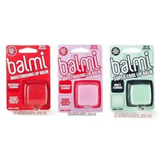 With a unique, patented conical lip balm for zero hassle and fuss-free application, the Balmi Cube protects lips from the harsh effects of an active lifestyle. Jam-packed with a natural blend of Vitamin E, Shea Butter and Jojoba Oil goodness, the new Balmi Cube leaves your lips moisturised, soft and super smooth, with long-lasting SPF 15 and UVA & UVB protection for daily care.