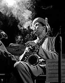 Dexter Gordon, NYC [DXG01], 1948 by Herman Leonard