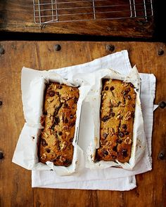 Date & Walnut Zucchini Loaf - Foodess | Made it at 1/2 with: 1 egg/1 egg white, coconut palm sugar, 2 splashes almond milk and extra cinnamon.