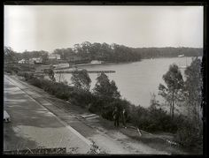 [View from railway station], Toronto, NSW, October 1898