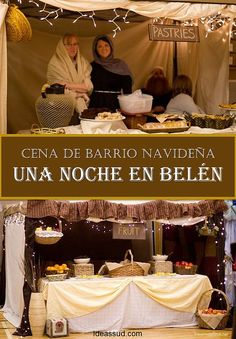 Ideas SUD   CENA BARRIO UNA NOCHE EN BELEN