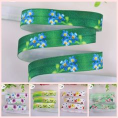 """We love it and we know you also love it as well 5/8"""" heat transfer fold over elastic spring series foe elastic printed floral for DIY accessaries 100yards/lot, welcome custom just only $26.00 with free shipping worldwide  #babygirlsclothing Plese click on picture to see our special price for you"""