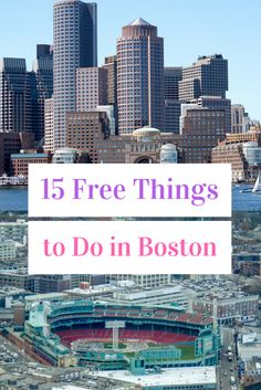 On a budget? Check out 15 free things to do in Boston, Massachusetts! Both tourists and locals will learn something new, I guarantee!