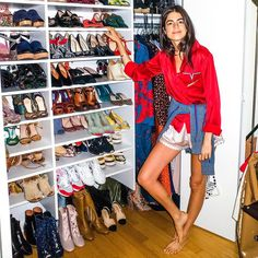 Meanwhile on an #MRShoesday balllot near you... click the link in bio with your pinky toenail to read @leandramedine's closet cleaning tips.