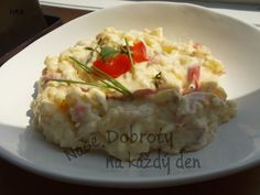 Rychlý bramborový salát.